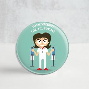 Chapa – Yo me vacuno, por ti por mi.