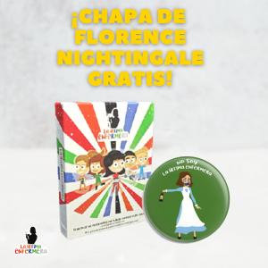PACK Juego de Cartas La Última Enfermera + Chapa Nightingale GRATIS