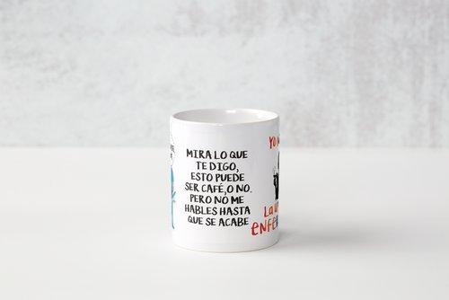 taza personalizada cafe